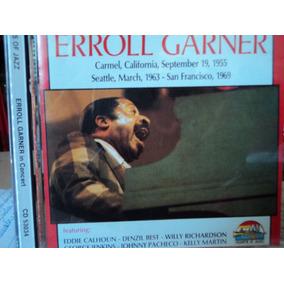 Cd-errol Garner:immortal Concerts-giants Of Jazz-importado
