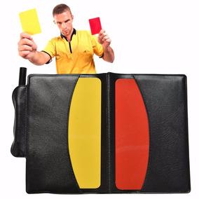 Seja Árbitro! Kit Cartões + Porta Cartões + Lápis + Bloco