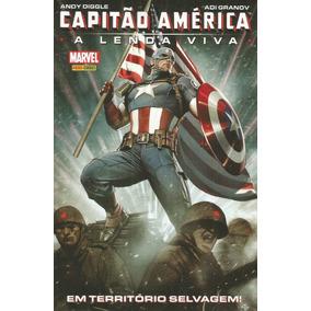 Capitao America A Lenda Viva - Panini - Bonellihq Cx69 K17