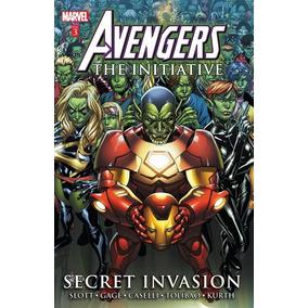 Vingadores - A Iniciativa-invasão Secreta Skrulls-capa Dura