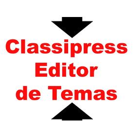 Personalizar Tema Classipress (wp) Com Um Clique