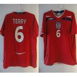 Camisa Seleção Inglaterra 2008 - Futebol no Mercado Livre Brasil 8b9360cc234bf