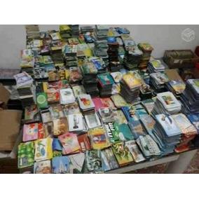 Lote Com 100 Cartões Telefônicos Em Séries Completas