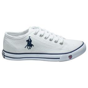 9726b39665a Tenis Zapato Dama Mujer Cw-801-01 Rcb Polo Club Blanco