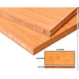 Cubierta De Cocina, Mesa Trabajo Comedor De Bambu Duela 16mm