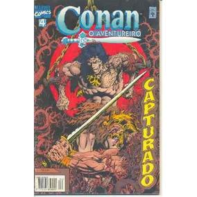 Hq-conan O Aventureiro:n.4-capturado-marvel Comics