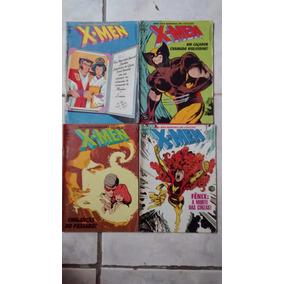 Mini Série X Men Em 4 Edições Da Abril.