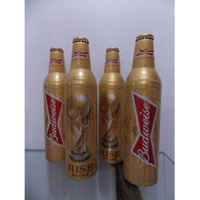 Garrafas Alumínio Budweiser Edição Limitada Copa 2014