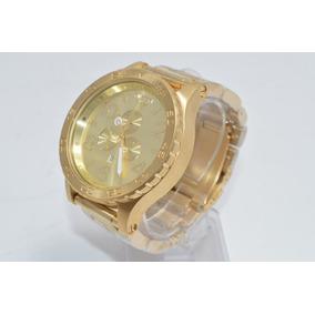 35df19e36ea Relogio Nixon Dourado Masculino - Relógio Nixon Masculino no Mercado ...