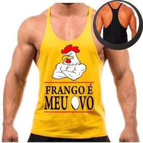 55b427b1df Camiseta Frango É Meu Ovo Camisetas Masculino - Camisetas e Blusas ...