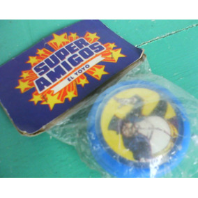 Batman-yoyo Pinguino Superamigos C/blister Orig, Retro