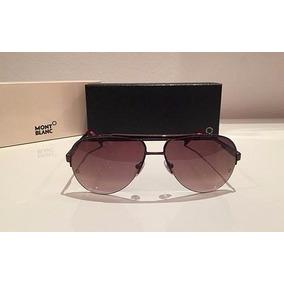 3a7af00725fcb Oculos Masculino - Óculos De Sol Mont Blanc no Mercado Livre Brasil