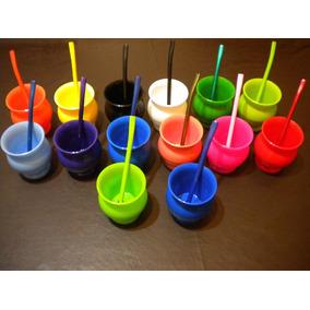 Mates Plasticos Termicos X 20 Un C/ Bombilla Color $ 560,00