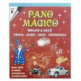Kit 05 Flanela Magica Limpa Ilustra Jóias Pano Mágico
