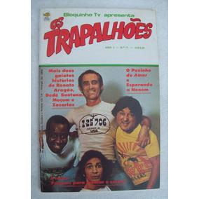 Os Trapalhões Nº 11: O Pozinho Do Amor - Ed. Bloch - 1977