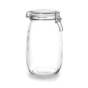 Bote Hermético Para Conservas Cristal 1.5 Litros Marca Ibili