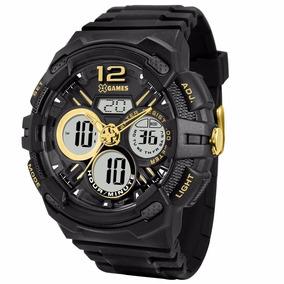 Relógio X-games Masculino Anadigi Xmppa126 P2px Preto Oferta