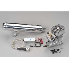 Kit Motor Rc Heli Os Gt15hz Gasolina Con Pipa Original O S