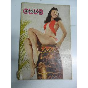 Club Dos Artistas Nº 12! Set 1957! Vedetes Do Teatro!