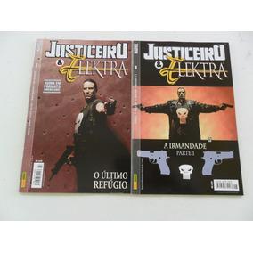 Justiceiro E Elektra! Várias! R$ 15,00 Cada! Panini 2003!