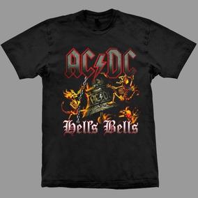 Camiseta Ac/dc Hells Bells.