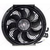 Ventoinha Universal Radiador Condensador 12 Polegadas 12v