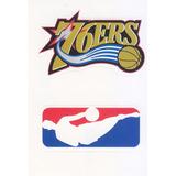 1997 Ud Choice Italian Sticker 76ers Nba Logo Teams #1 #300