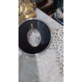 Medalla Plata .925 Virgen Gpe. Sn Juan Pab Y Sagrado Corazon