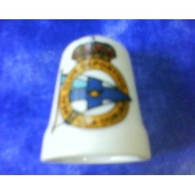 Futbol-antiguo Dedal Ceramica C/escudo Real Deport La Coruña