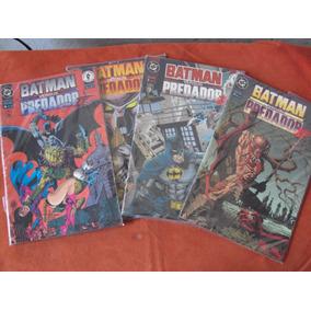 Gibi Batman Versus Predador Completo Frete R$ 15,00