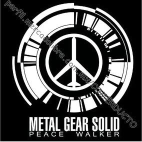 Playera Peace Walker Playera Metal Gear Peace Walker Ec Vvbq