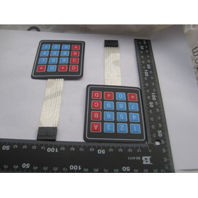 Teclado Matriz 4x4 Membrana Para Arduinopic Microcontrolador