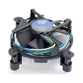 Cooler Para Intel Socket 1155 Lga Original Seminovo Aluminio