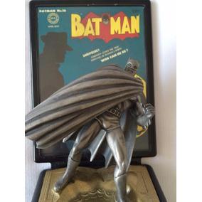 Batman Estátua Edição Limitada Campeões Fine Pewter Original