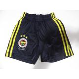 424e777d86 Calção Shorts adidas Infantil Fenerbahce Galatasaray 5 Anos
