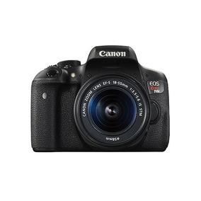 Camera Canon Eos T6i Com Lente 18-55mm + 32gb + Bolsa+tripé