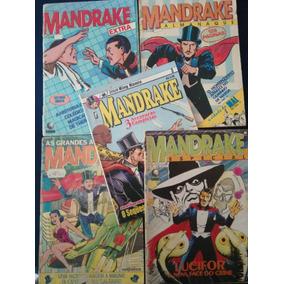 Mandrake Lote 5 Revistas
