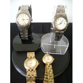 03cd0123c36 Lote De 04 Relógios De Pulso Feminino Diversas Marcas