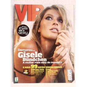 Vip 284 11/2008 Gisele Bündchen