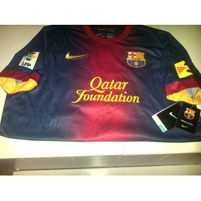 Camiseta Autografiada Por Leo Messi - Camisetas en Mercado Libre ... cc4e9efb65f56