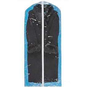 Paquete De 50 Porta Abrigos De Vinil Transparente 60x137 Cm