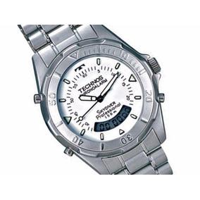 Relogio Technos Skydiver Aco Escovado - Relógios no Mercado Livre Brasil 86de0ddfec