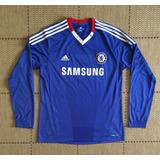 40eb7f6a23 Camisa Chelsea Manga Longa - Camisa Chelsea Masculina no Mercado ...