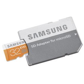Samsung Microsd Evo Sdhc Clase 10 Uhs-1 32gb 48mb/sec Usadas