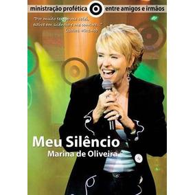 Dvd Marina De Oliveira Meu Silêncio Mk .biblos