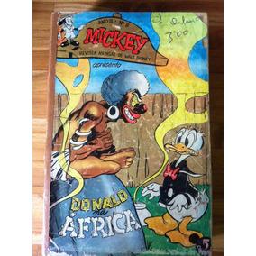 Revista Mickey Com 12 Hqs Originais Anos 50