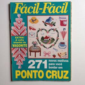 Revista Fácil Fácil Ponto De Cruz A Volta Do Vagonite Nº412