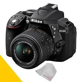 Nikon D5300 Cámara Réflex Digital Con Lente De 18-55mm (negr