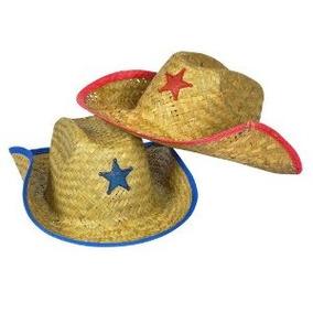 Childs Paja Sombrero De Vaquero Con Plástico Star (1 Docena) 2704dbdb3dd