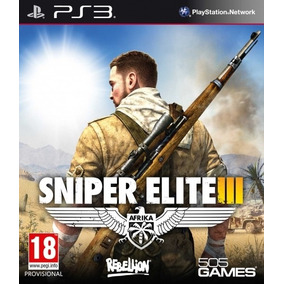 Jogo Novo Lacrado Sniper Elite 3 Para Playstation 3 Ps3